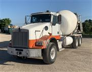 2008 Kenworth T800 Mixer Truck with MTM 10.5 yd Std