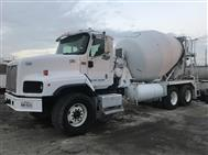 2013 International Paystar Mixer Trucks, MTM 10.5 yd Standard Mixers